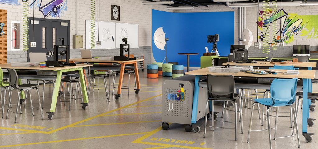 Maker Space Steam Pemco Furniture